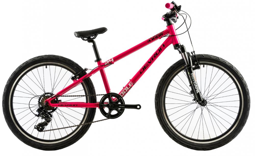 Bicicleta copii Devron Riddle K2.4 roz 24 inch imagine