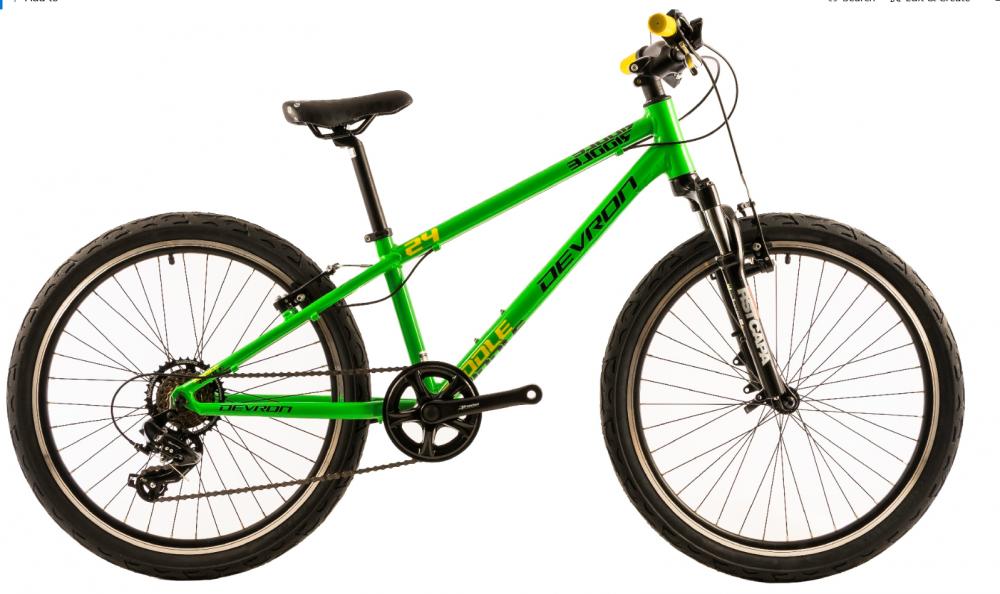 Bicicleta copii Devron Riddle K2.4 verde 24 inch imagine