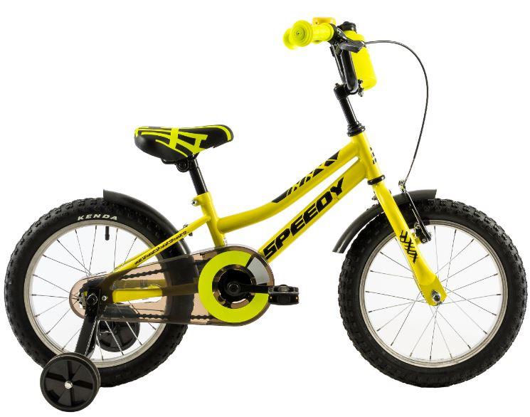 Bicicleta copii Dhs 1401 galben 14 inch imagine