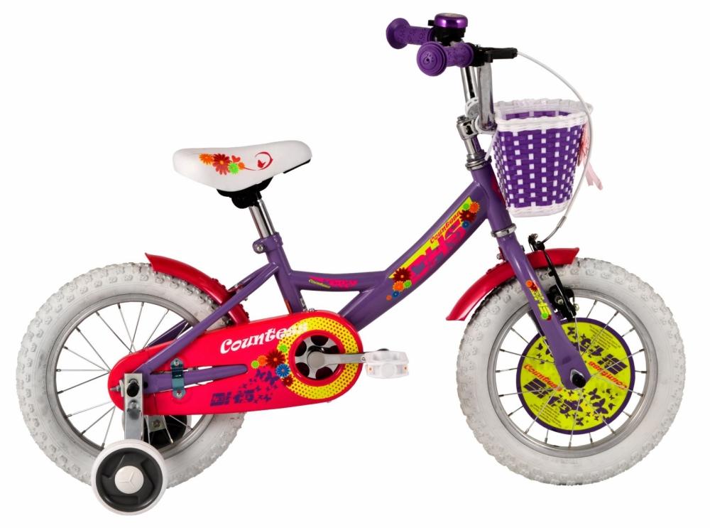 Bicicleta Copii Dhs 1402 violet 14 Inch