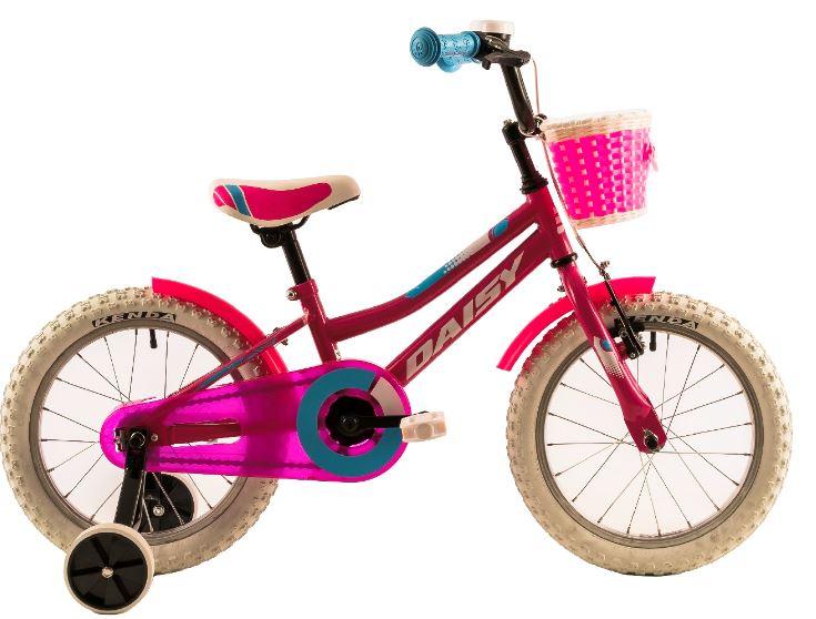 Bicicleta copii Dhs 1602 roz 16 inch