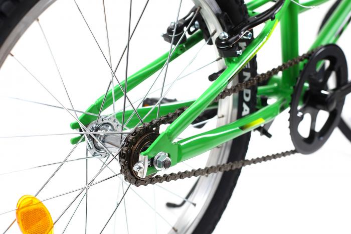 Bicicleta copii Dhs 2003 verde 20 inch