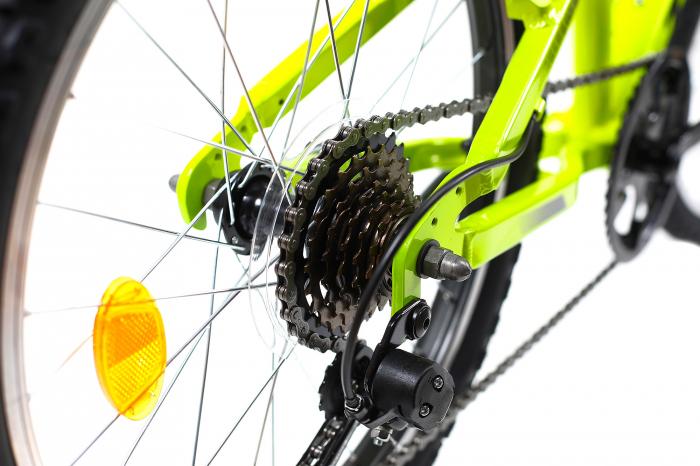 Bicicleta copii Dhs 2023 verde aprins 20 inch