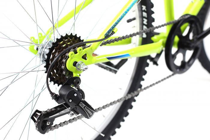 Bicicleta copii Dhs 2421 verde light 24 inch