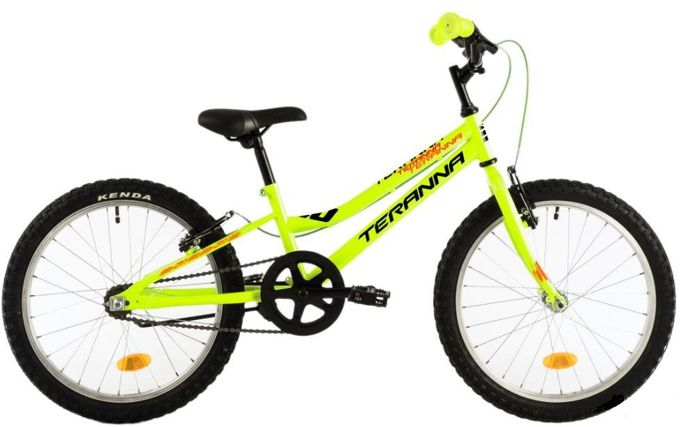 Bicicleta copii Dhs Terrana 2003 galben aprins 20 inch