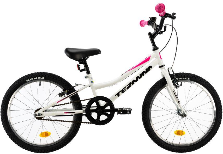 Bicicleta copii Dhs Terrana 2004 alb 20 inch imagine
