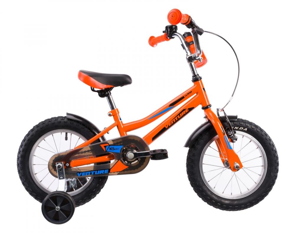 Bicicleta copii Venture 1417 portocaliu 14 inch