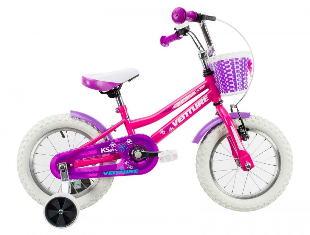 Bicicleta copii Venture 1418 roz 14 inch