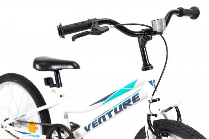 Bicicleta copii Venture 2011 alb 20 inch