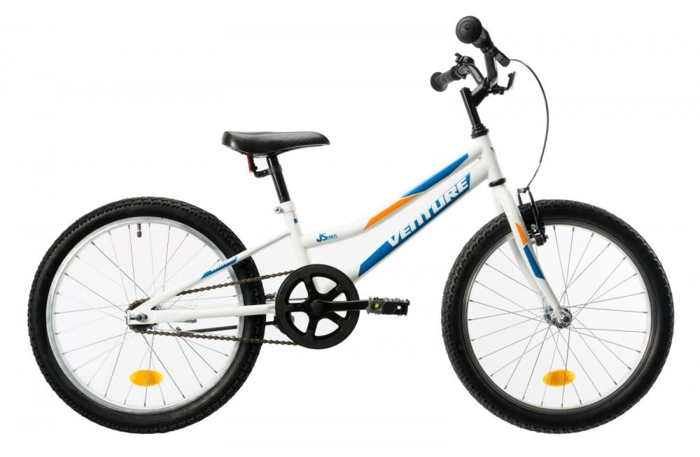 Bicicleta copii Venture 2011 alb albastru 20 inch
