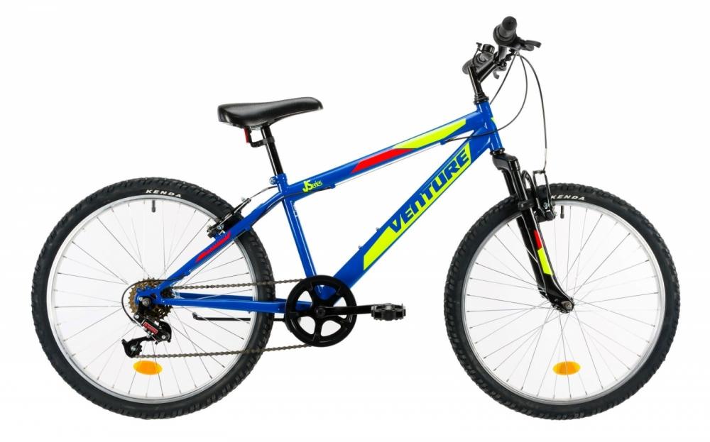 Bicicleta copii Venture 2419 albastru 24 inch