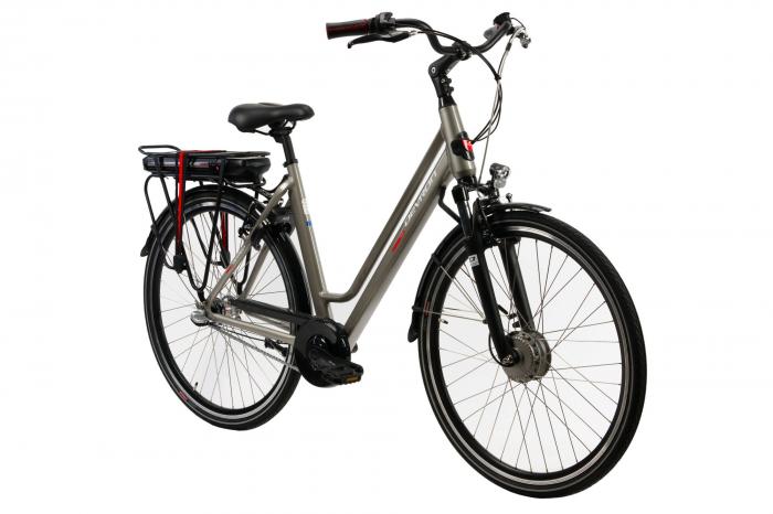 Bicicleta electrica Devron 28122 L gri 28 inch