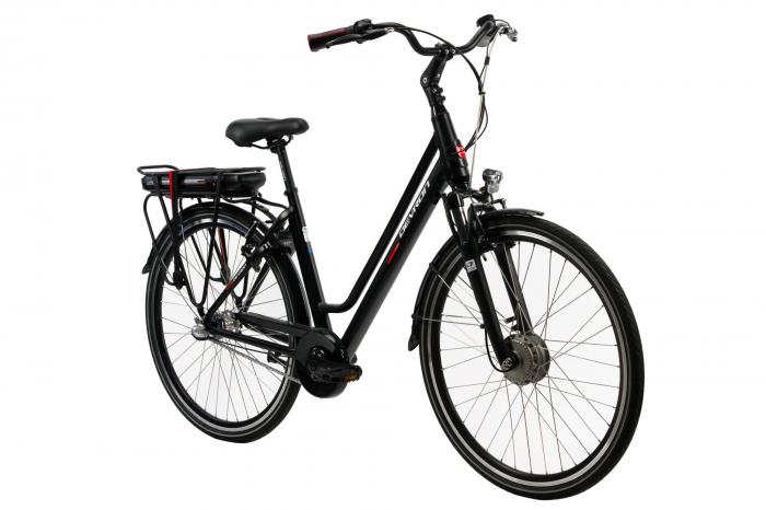 Bicicleta electrica Devron 28122 L negru 28 inch