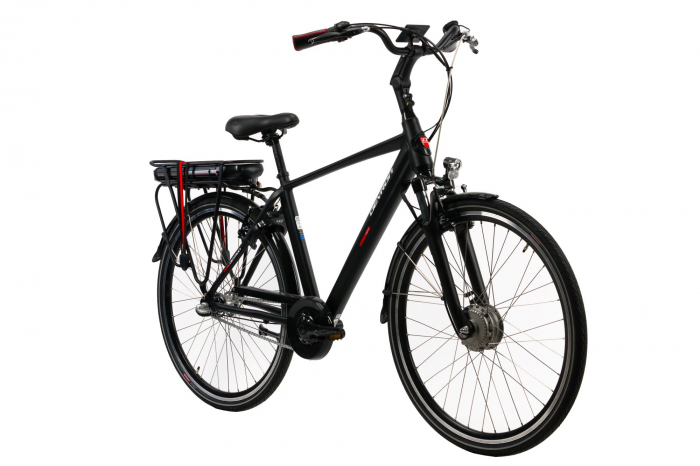 Bicicleta electrica Devron 28125 negru L 28 inch imagine