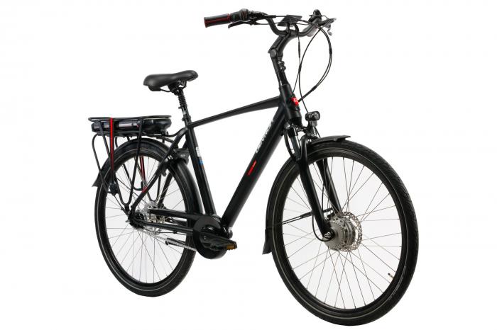 Bicicleta electrica Devron 28127 negru L 28 inch imagine