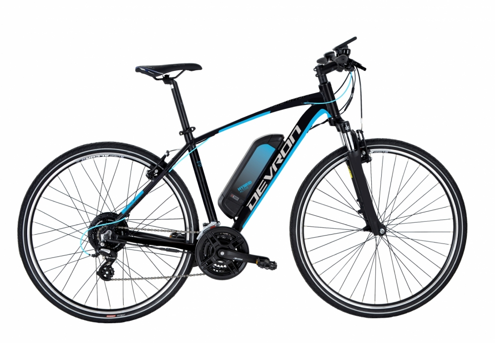 Bicicleta electrica Devron 28161 490 mm negru mat 28 inch
