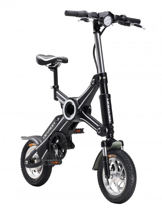 Bicicleta electrica Devron pliabila Folding X3 negru 20 inch