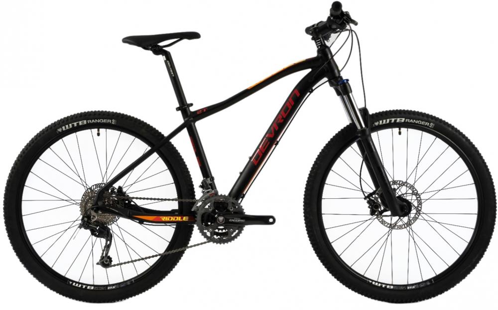Bicicleta Mtb Devron Riddle M3.7 L negru 27.5 inch