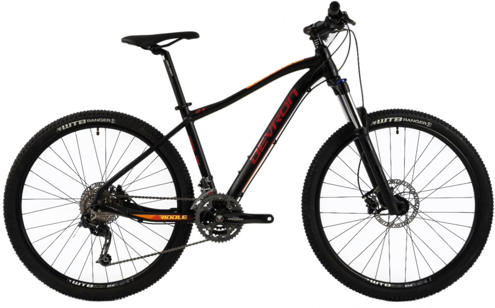 Bicicleta Mtb Devron Riddle M3.7 M negru 27.5 inch