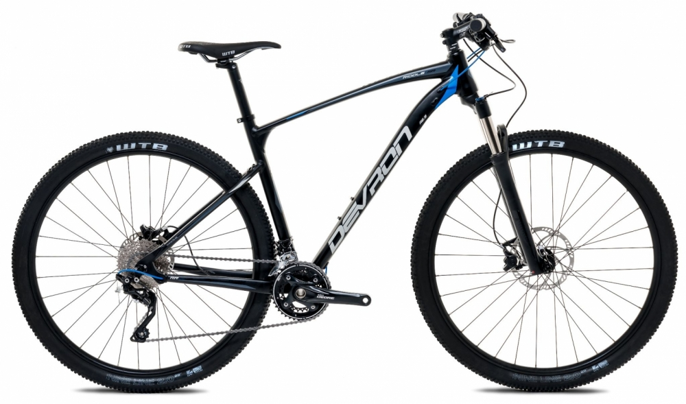 Bicicleta Mtb Devron Riddle men R6.9 S Pure black 29 inch