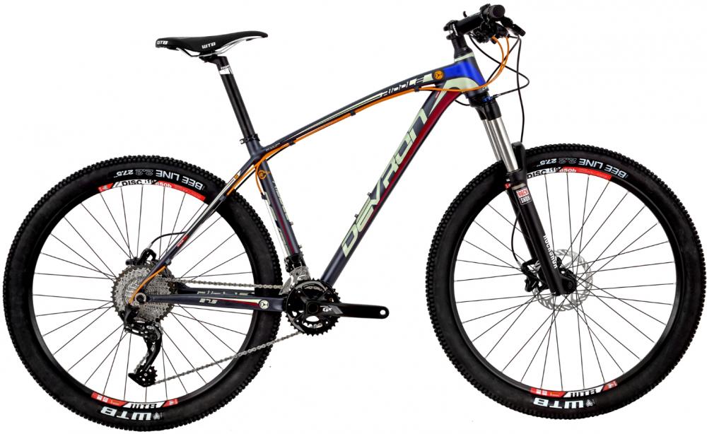 Bicicleta Mtb Devron Riddle R7.7 M 457 mm Race Black 27.5 inch
