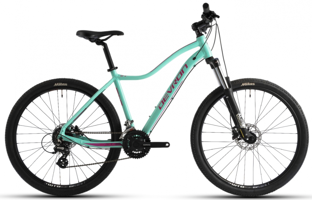 Bicicleta Mtb Devron Riddle W1.7 M albastru 27.5 inch imagine