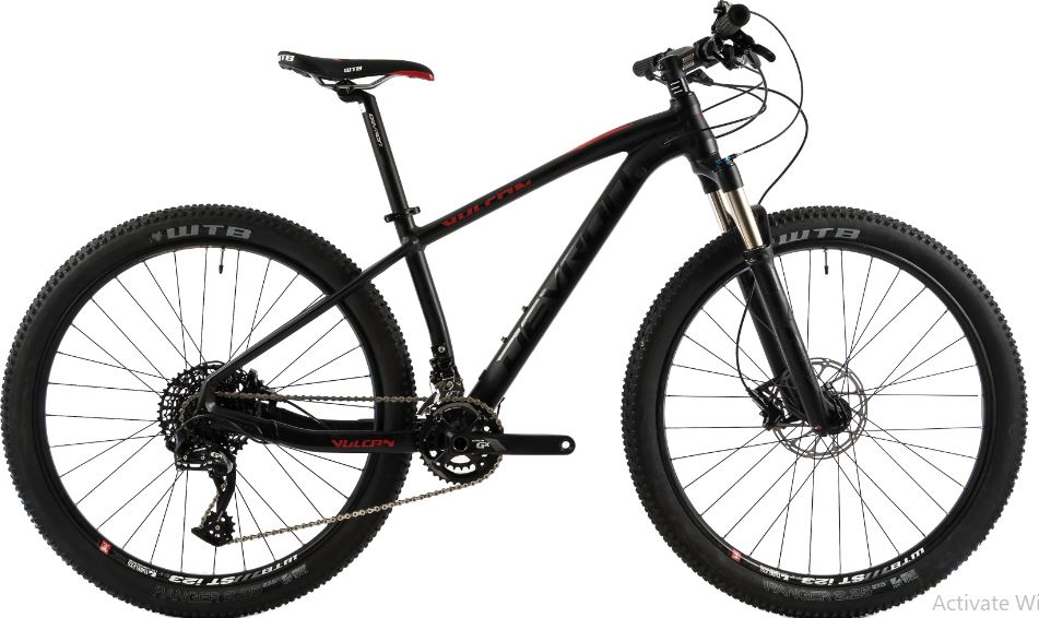 Bicicleta Mtb Devron Vulcan 2.7 S negru 27.5 inch