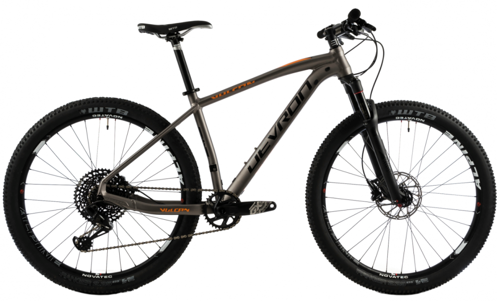 Bicicleta Mtb Devron Vulcan 3.7 S gri 27.5 inch