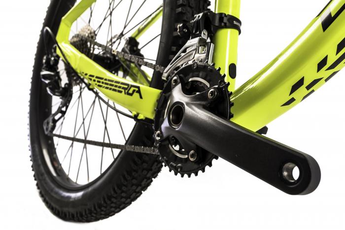 Bicicleta Mtb Devron Zerga 1.7 Xl verde 27.5 inch Plus imagine