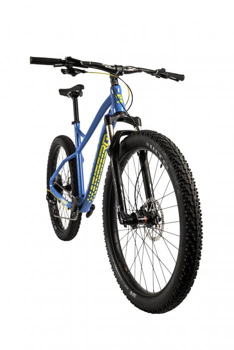 Bicicleta Mtb Devron Zerga 3.7 M 455 mm albastru 27.5 inch Plus