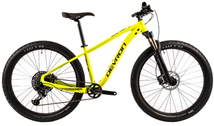Bicicleta Mtb Devron Zerga 3.7 S 400 mm verde 27.5 inch Plus imagine