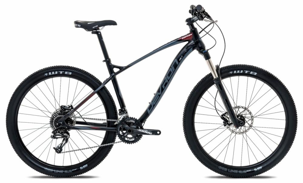 Bicicleta Mtb Devron Zerga D5.7 Evil black S 27.5 inch