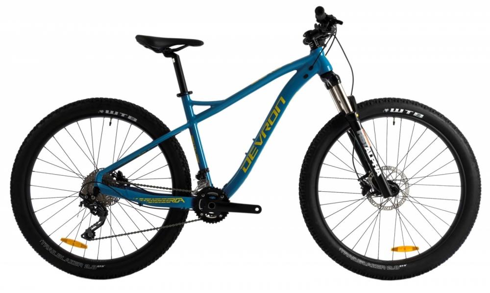 Bicicleta Mtb Devron Zerga Uni 1.7 455 mm M albastru 27.5 inch