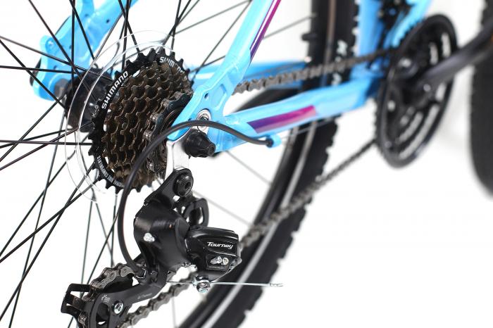 Bicicleta Mtb Dhs Terrana 2622 S albastru 26 inch imagine