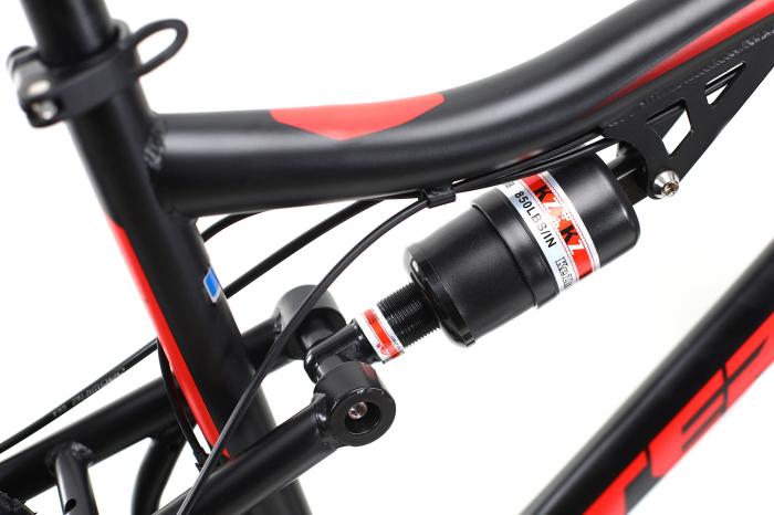 Bicicleta Mtb Dhs Terrana 2645 M negru rosu 26 inch