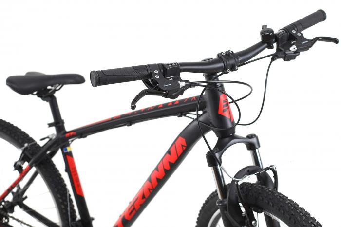 Bicicleta Mtb Dhs Terrana 2723 S negru 27.5 inch imagine