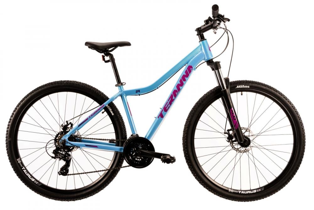 Bicicleta Mtb Dhs Terrana 2924 S albastru 29 inch