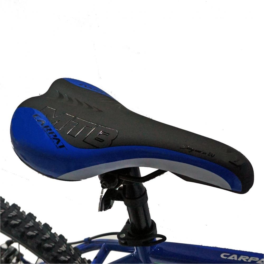 Bicicleta Mtb-Ht 26 Carpat Forester C2653B cadru otel culoare albastruverde