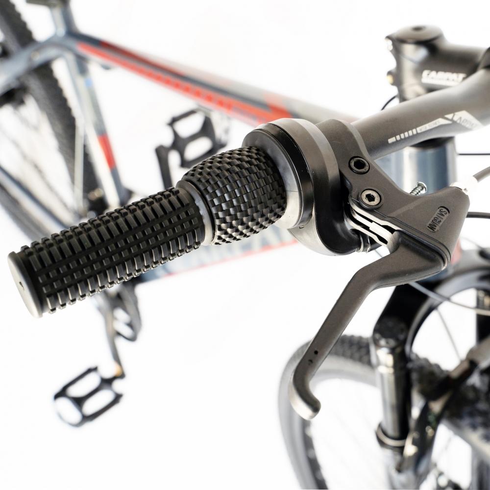 Bicicleta Mtb-Ht 26 Carpat Montana C2699A cadru auminiu culoare grirosu