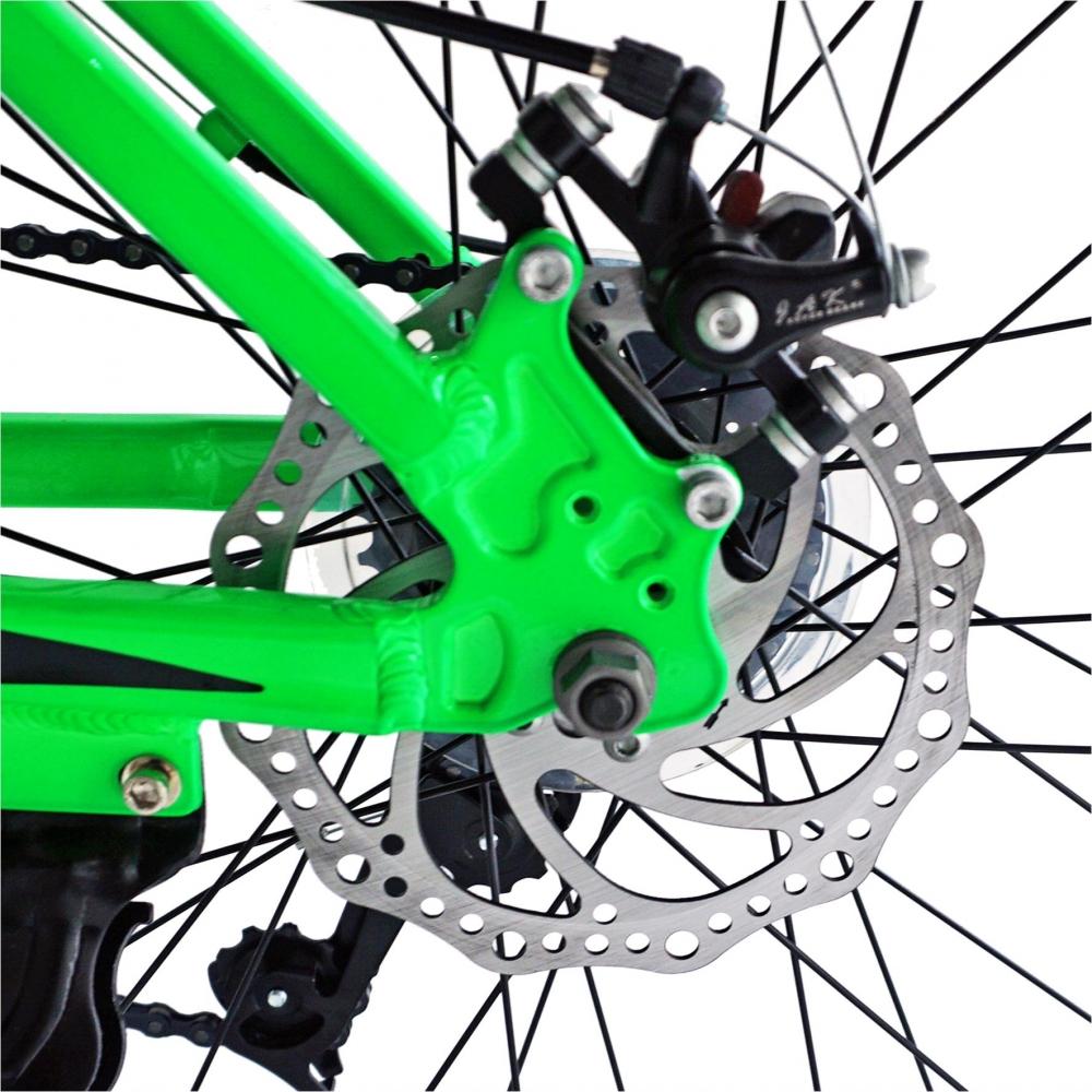 Bicicleta Mtb-Ht 26 Carpat Thunder C2654A cadru aluminiu culoare verdenegru