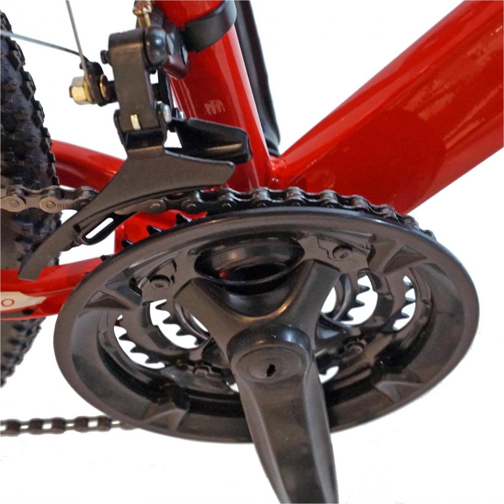 Bicicleta Mtb-Ht 26 Velors Scorpion V2671A cadru aluminiu culoare rosualb