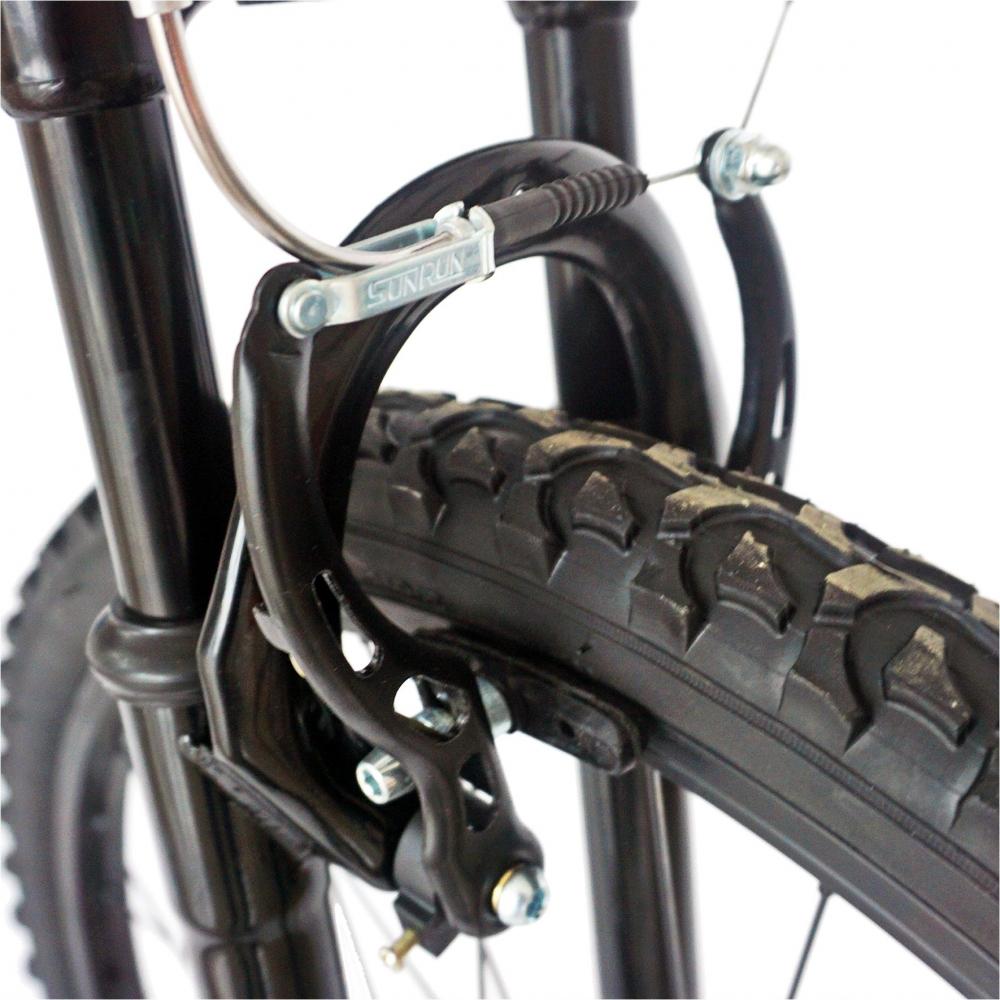 Bicicleta Mtb-Ht 26 Velors V2651A cadru otel culoare negrurosu