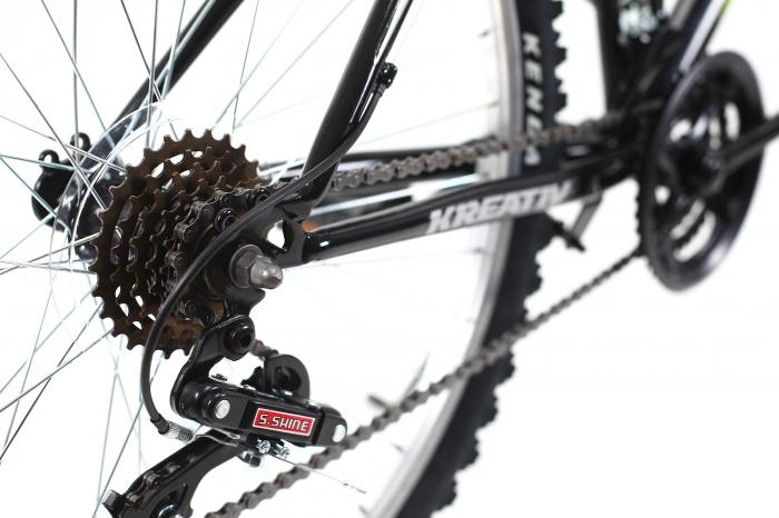 Bicicleta Mtb Kreativ 2604 M negru 26 inch imagine