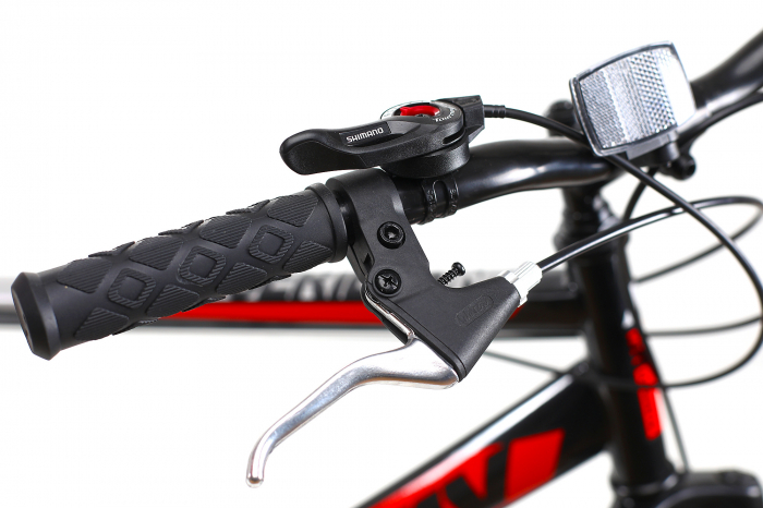 Bicicleta Mtb Kreativ 2605 M negru rosu 26 inch