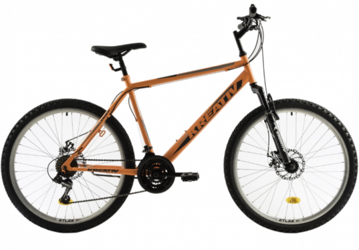 Bicicleta Mtb Kreativ 2605 M portocaliu 26 inch
