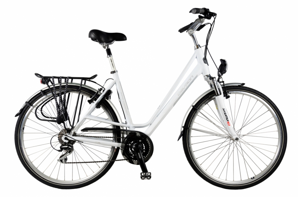 Bicicleta oras Devron 2824 M Brighton alb 28 inch