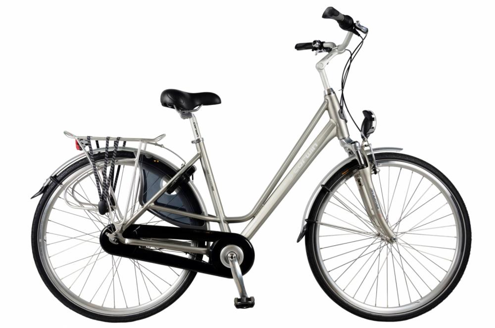 Bicicleta oras Devron 2834 Brisbane M gri mat 28 inch