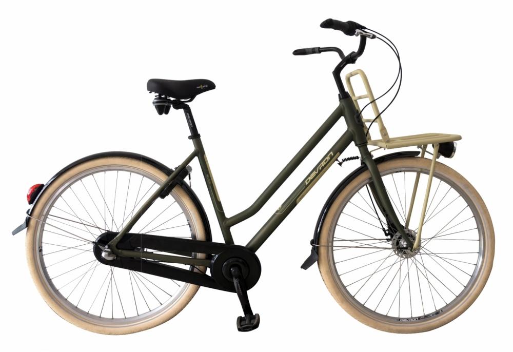 Bicicleta oras Devron 2862 Nelson L verde mat 28 inch