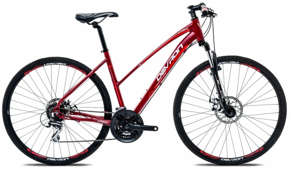 Bicicleta oras Devron Cross Lk2.8 L Fiery red 28 inch