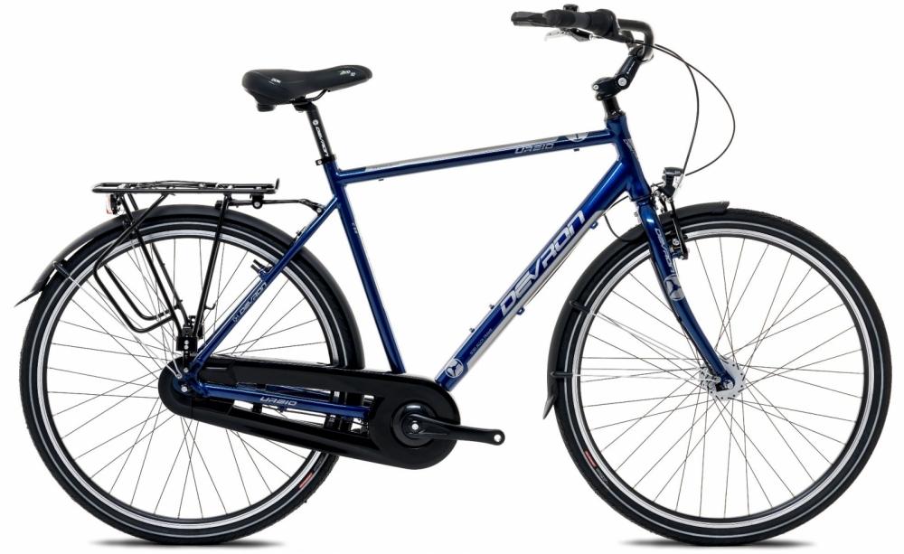 Bicicleta oras Devron Urbio C 2.8 Deep blue L 28 inch imagine